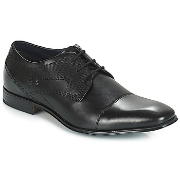 Cipők Férfi Oxford cipők Bugatti ROMEI Fekete