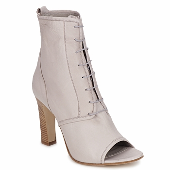 Shoes Női Bokacsizmák Jil Sander JS16328 Bézs