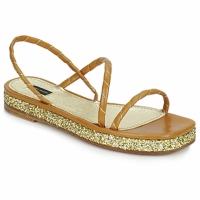 Cipők Női Szandálok / Saruk Marc Jacobs MJ16405 Barna / Arany