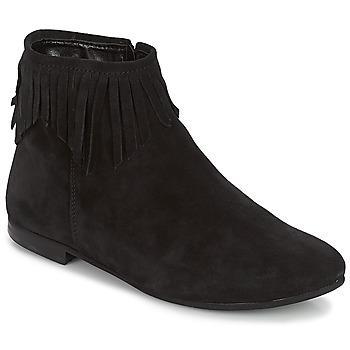 Cipők Női Csizmák André COACHELLA Fekete