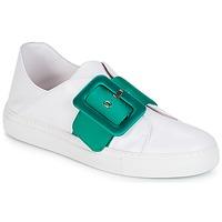 Cipők Női Rövid szárú edzőcipők Minna Parikka ROYAL Emerald-fehér
