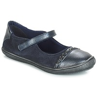 Cipők Lány Balerina cipők  André LOUISA Tengerész