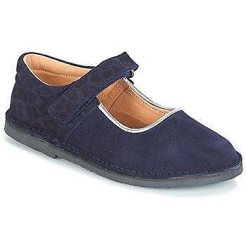 Cipők Lány Balerina cipők / babák André AURORA Tengerész