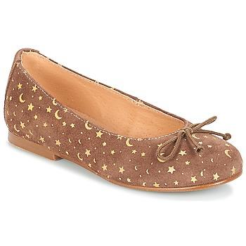 Cipők Lány Balerina cipők / babák André MOON Tópszínű