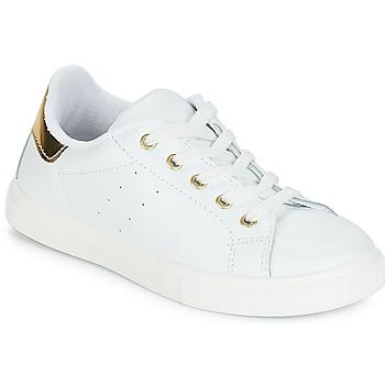 Cipők Lány Rövid szárú edzőcipők André TAMARA Fehér