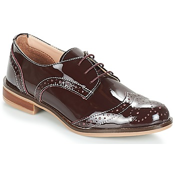 Cipők Női Oxford cipők André PLYMOUTH Bordó