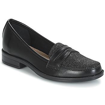 Cipők Női Mokkaszínek André LONG ISLAND Fekete
