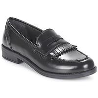 Cipők Női Mokkaszínek André MAEVA Fekete