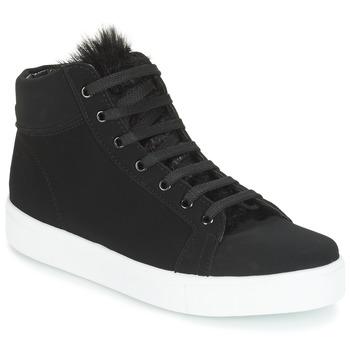 Cipők Női Magas szárú edzőcipők André GOSPEL Fekete