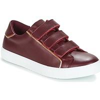 Cipők Női Rövid szárú edzőcipők André CRICKET Bordó
