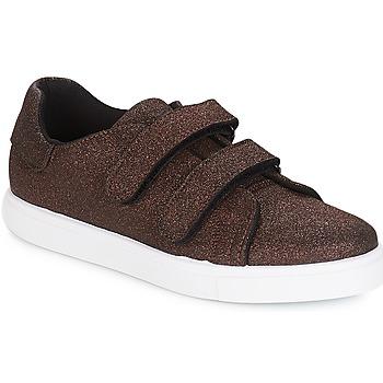 Cipők Női Rövid szárú edzőcipők André ECLAT Bronz