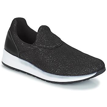 Cipők Női Belebújós cipők André RHINESTONE Fekete