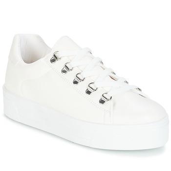 Cipők Női Rövid szárú edzőcipők André CROCHET Fehér