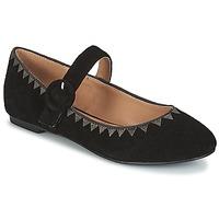 Cipők Női Balerina cipők / babák André ALBOROZA Fekete