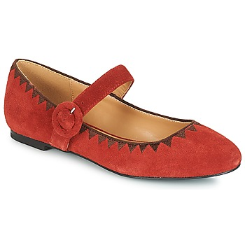 Cipők Női Balerina cipők / babák André ALBOROZA Piros