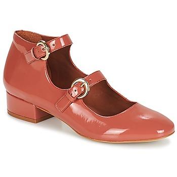 Cipők Női Balerina cipők  André GABIE Rózsaszín