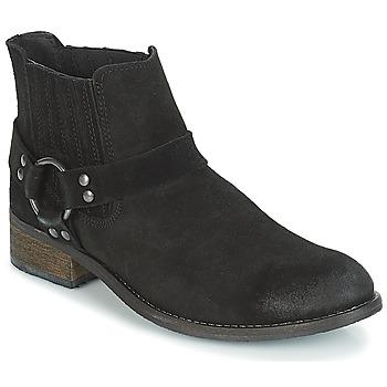 Cipők Női Csizmák André ELBA Fekete