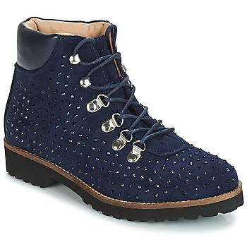 Cipők Női Csizmák André CALCEDOINE Kék