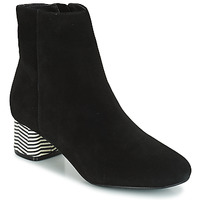 Cipők Női Bokacsizmák André EUFORIA Fekete