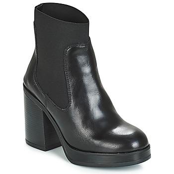 Cipők Női Bokacsizmák André JESSICA Fekete