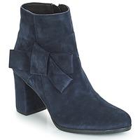 Cipők Női Bokacsizmák André LEONOR Kék