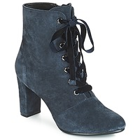 Cipők Női Bokacsizmák André JUSTINE Kék