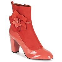 Cipők Női Bokacsizmák André MAGDALENA Rózsaszín
