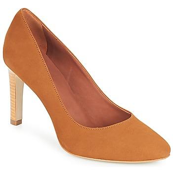 Cipők Női Félcipők André MANUELA Teve