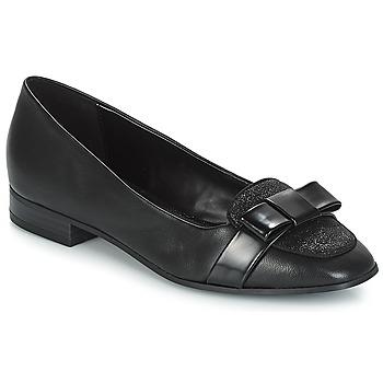 Cipők Női Mokkaszínek André ANNALISA Fekete