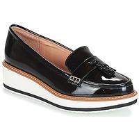 Cipők Női Mokkaszínek André AUSTIN Fekete