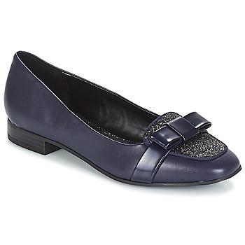 Cipők Női Balerina cipők  André ANNALISA Kék