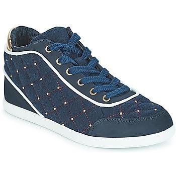 Cipők Női Magas szárú edzőcipők André KINGDOM Kék