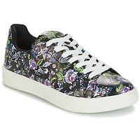 Cipők Női Rövid szárú edzőcipők André FLOWER Fekete