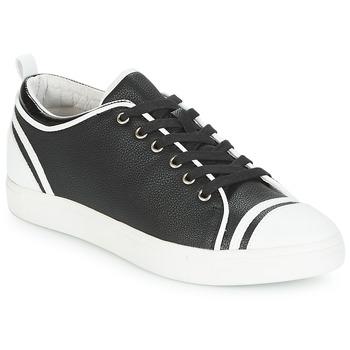 Cipők Női Rövid szárú edzőcipők André LEANE Fekete  / Fehér