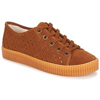 Cipők Női Rövid szárú edzőcipők André STARLIGHT Barna