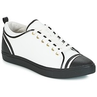Cipők Női Rövid szárú edzőcipők André LEANE Fehér