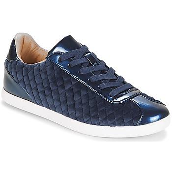Cipők Női Rövid szárú edzőcipők André VELVET Kék