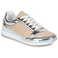 Cipők Női Rövid szárú edzőcipők André SAFARI Ezüst