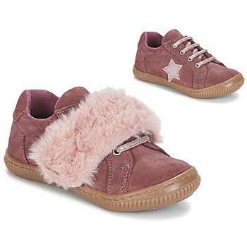 Cipők Lány Oxford cipők André RUBAN Rózsaszín