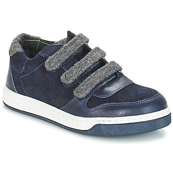 Cipők Fiú Oxford cipők André CARREAU Tengerész