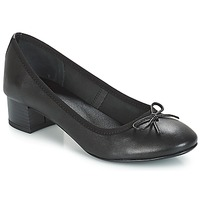 Cipők Női Balerina cipők / babák André POETESSE Fekete