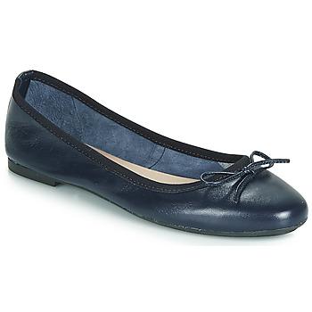 Cipők Női Balerina cipők  André PIETRA Tengerész