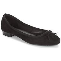 Cipők Női Balerina cipők / babák André CINDY Fekete