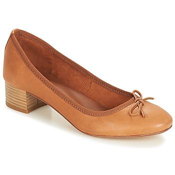 Cipők Női Balerina cipők  André POETESSE Barna