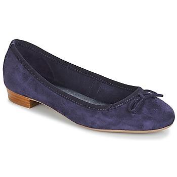 Cipők Női Balerina cipők / babák André CINDY Tengerész