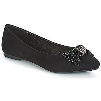 Cipők Női Balerina cipők / babák André FAUTIVE Fekete