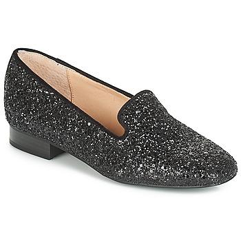 Cipők Női Mokkaszínek André ATOMIC Fekete