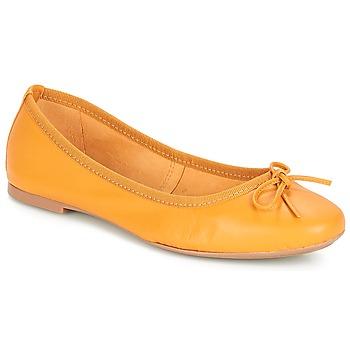 Cipők Női Balerina cipők / babák André PIETRA Citromsárga