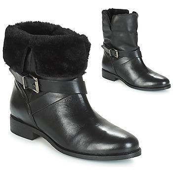 Cipők Női Csizmák André TRIO Fekete