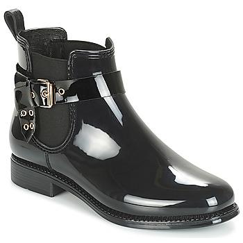 Cipők Női Gumicsizmák André THAMES Fekete